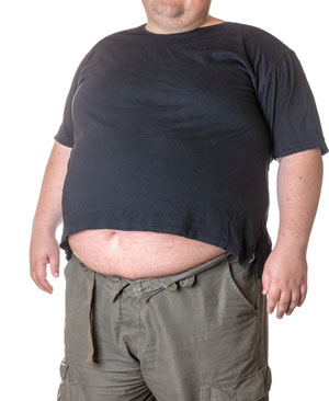 Large Stomach, waist line, metabolic syndrome
